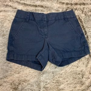 J. Crew Chino Blue Shorts